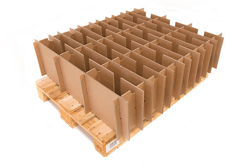 Large multiplied pallet packaging