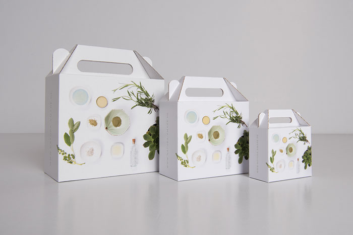 Packaging design natural products