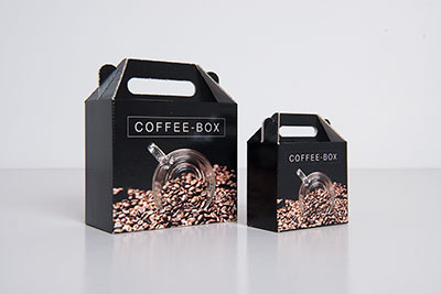 Packaging design coffee products